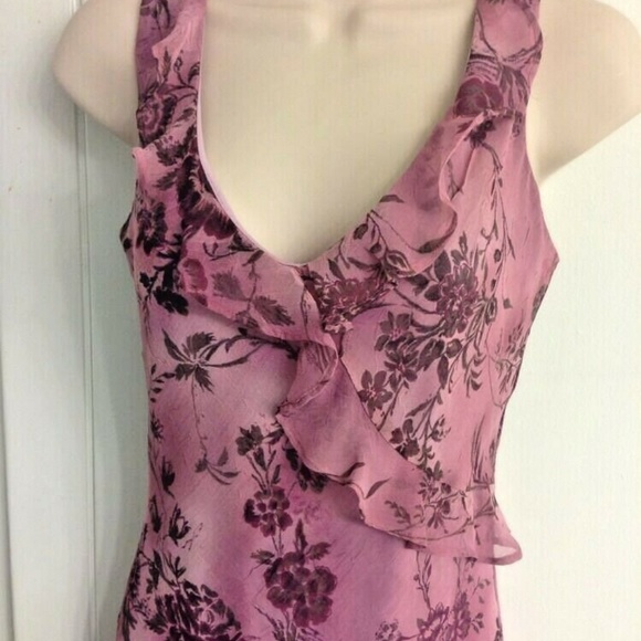 Purple Print Sundress by Breaking Loose NWT